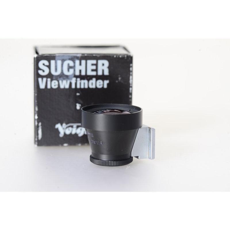 Voigtländer Optischer Sucher Metall 15mm