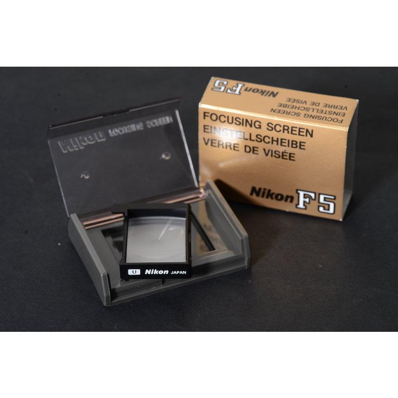 Nikon Einstellscheibe U F5