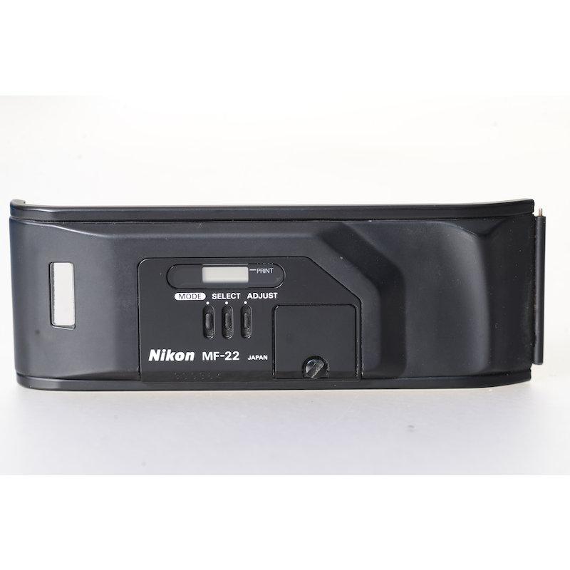 Nikon Datenrückwand MF-22 F4