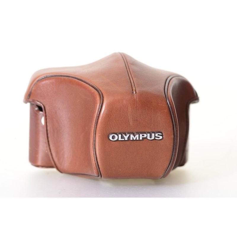 Olympus Bereitschaftstasche Leder Braun OM-1/2/3/4