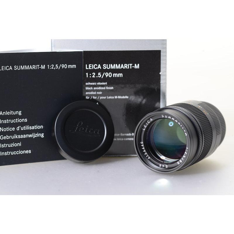 Leica Summarit-M 2,5/90 Schwarz