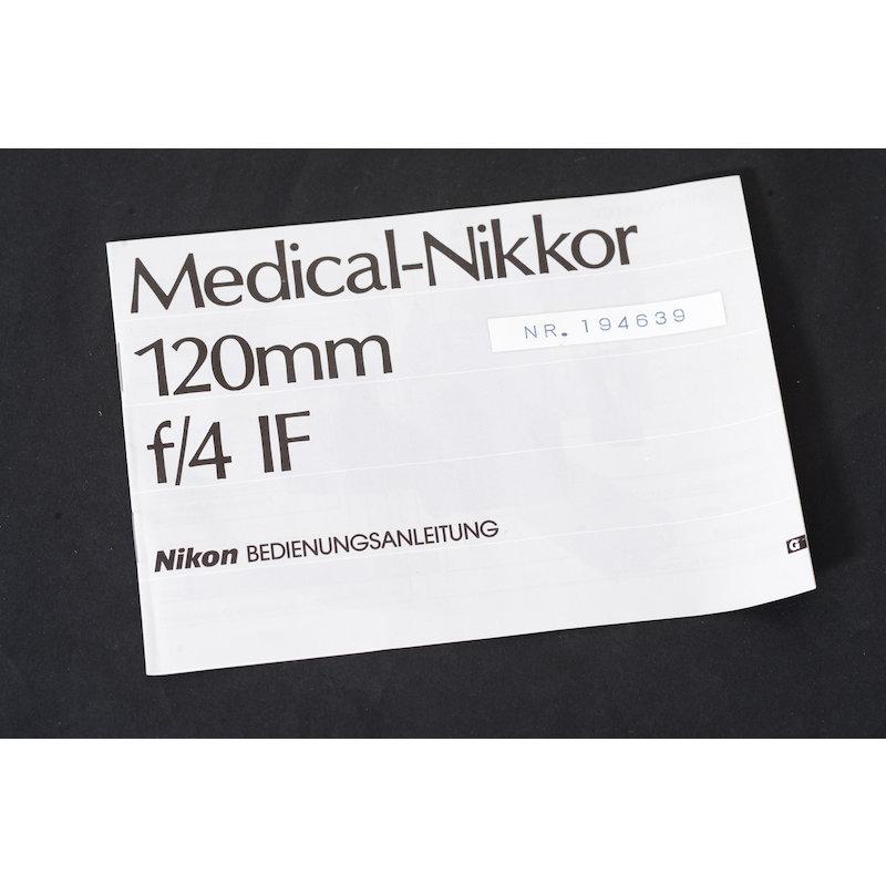 Nikon Anleitung Medical 4,0/120
