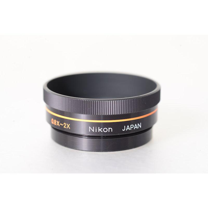 Nikon Vorsatzlinse 0,8x-2x f. Medical