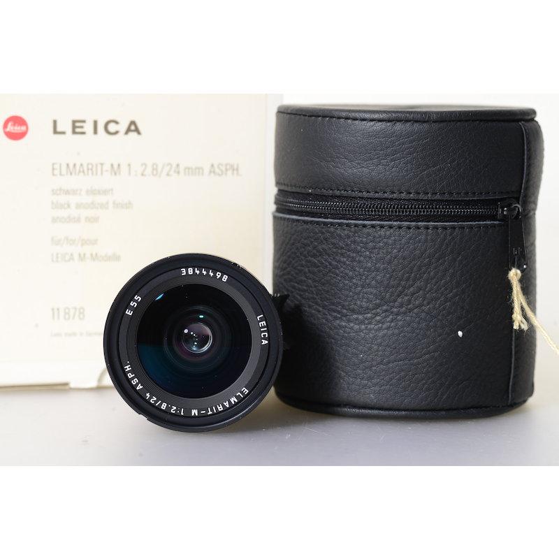 Leica Elmarit-M 2,8/24 ASPH. Black