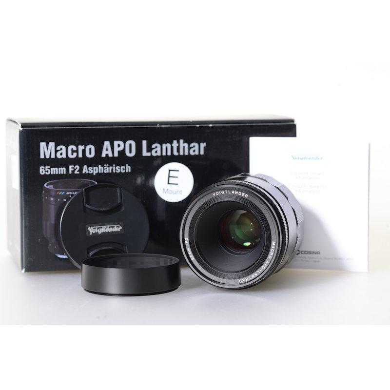 Voigtländer Apo-Lanthar 2,0/65 Macro ASL E-Mount