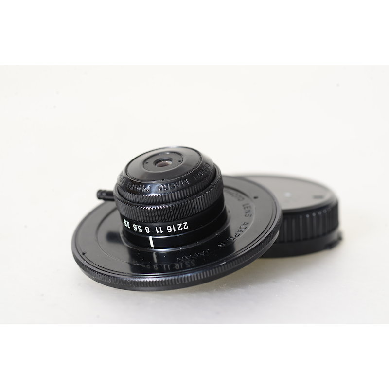 Canon 3,5/20 Lupenobjektiv M20+Ada. FD