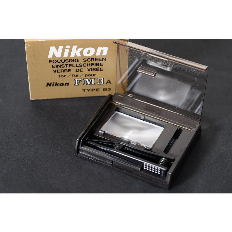 Nikon Einstellscheibe B3 FM3A