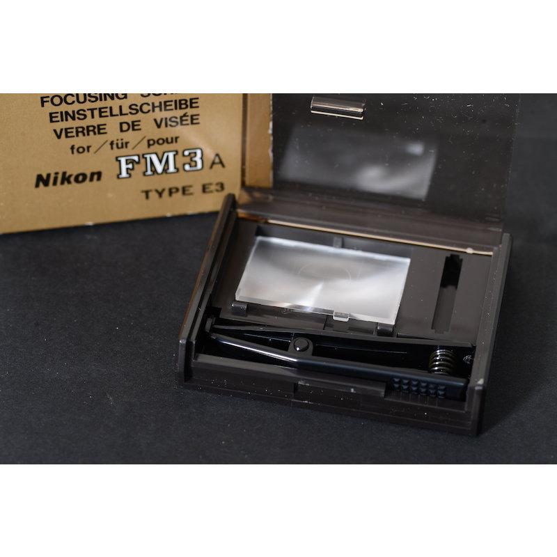 Nikon Einstellscheibe Gitter E3 FM3A