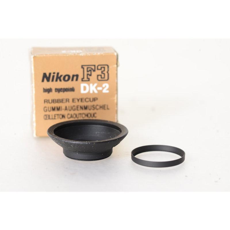 Nikon Augenmuschel DK-2 F3 HP/F4/F4 S/F4 E/F3
