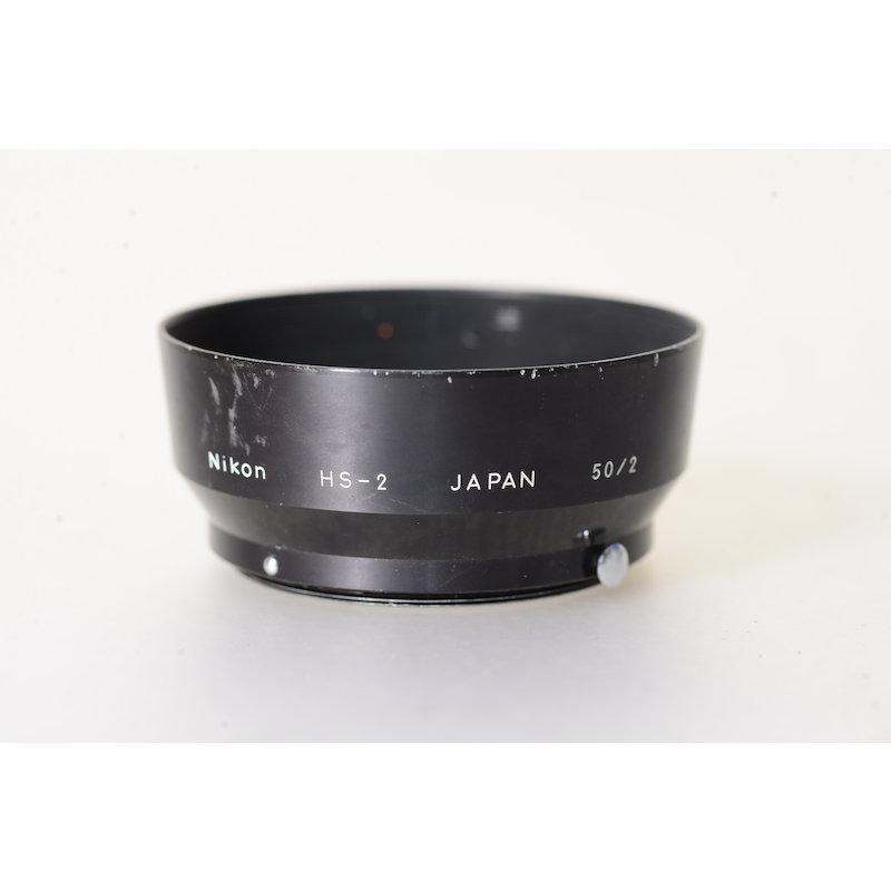 Nikon Geli.-Blende E-52 HS-2 Ai 2,0/50