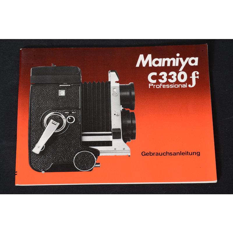 Mamiya Anleitung C330f