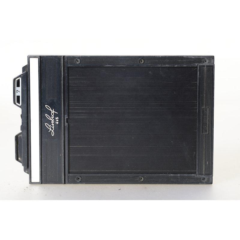 Linhof Super-Planfilmkassette 4x5