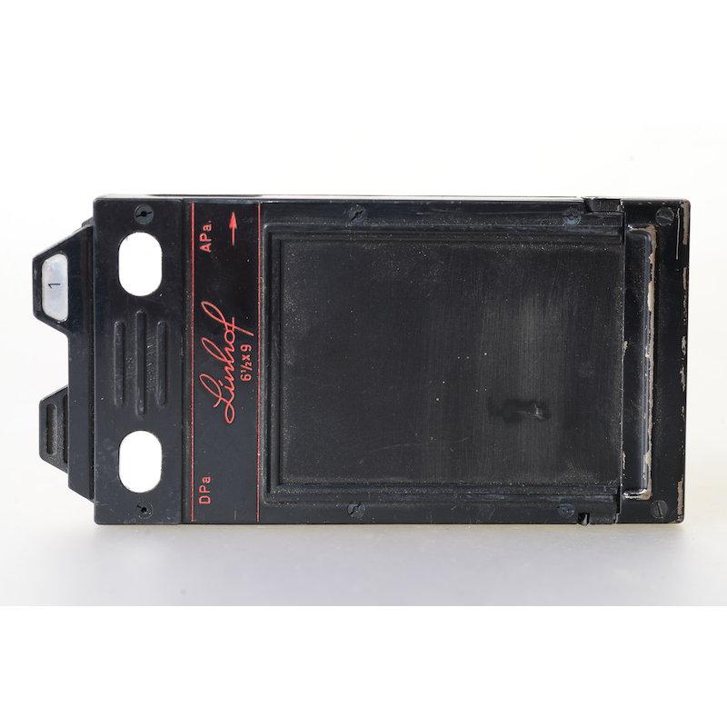 Linhof Doppelplanfilmkassette+Auswerfer 6,5x9