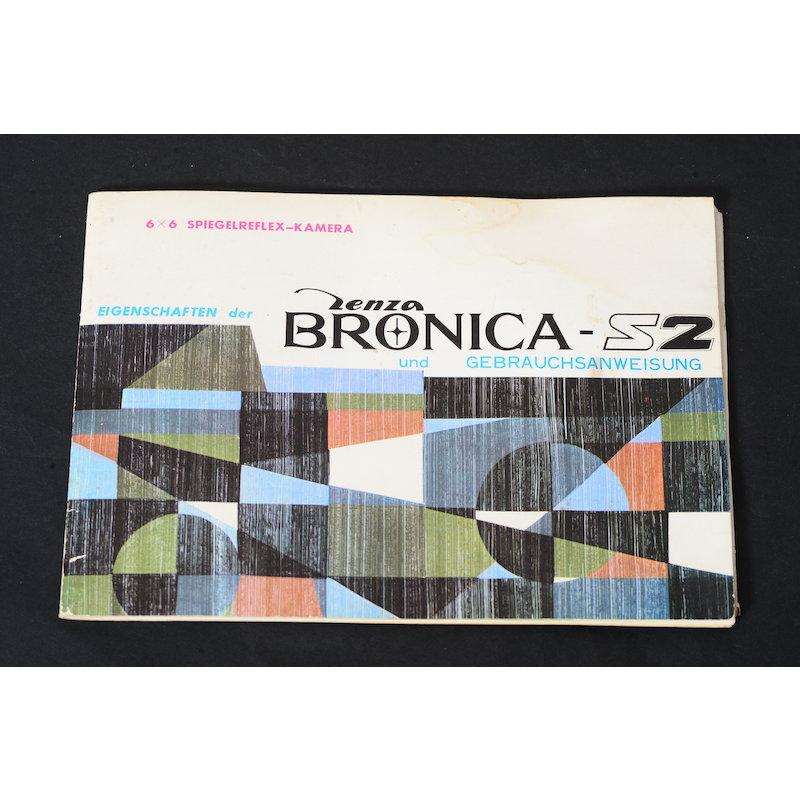 Bronica Eigenschaften der S2 und Gebrauchsanweisung