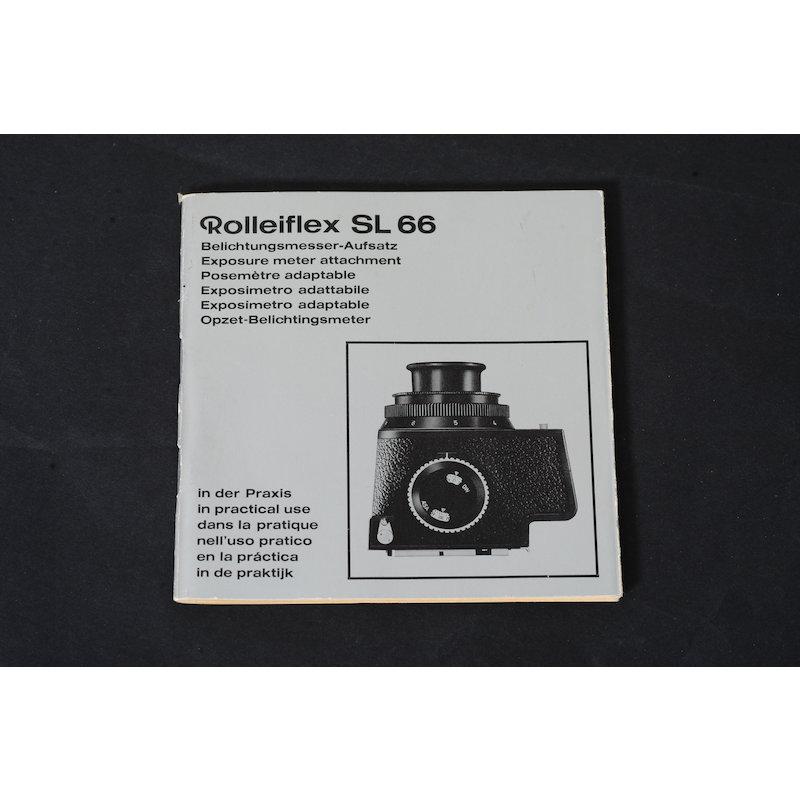 Rollei Anleitung Belichtungsmesser-Aufsatz SL-66 in der Praxis