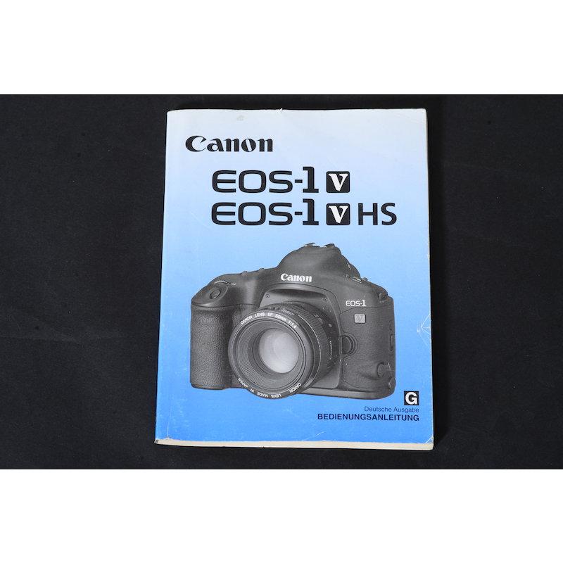Canon Anleitung EOS-1 V/V HS