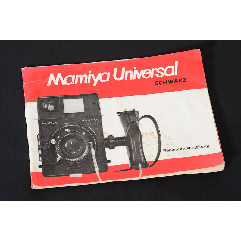 Mamiya Anleitung Universal 6x9