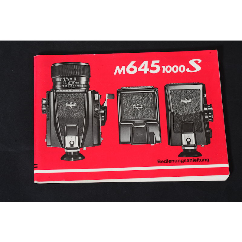 Mamiya Anleitung M645 1000 S