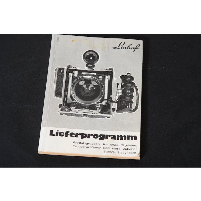Linhof Lieferprogramm 1975