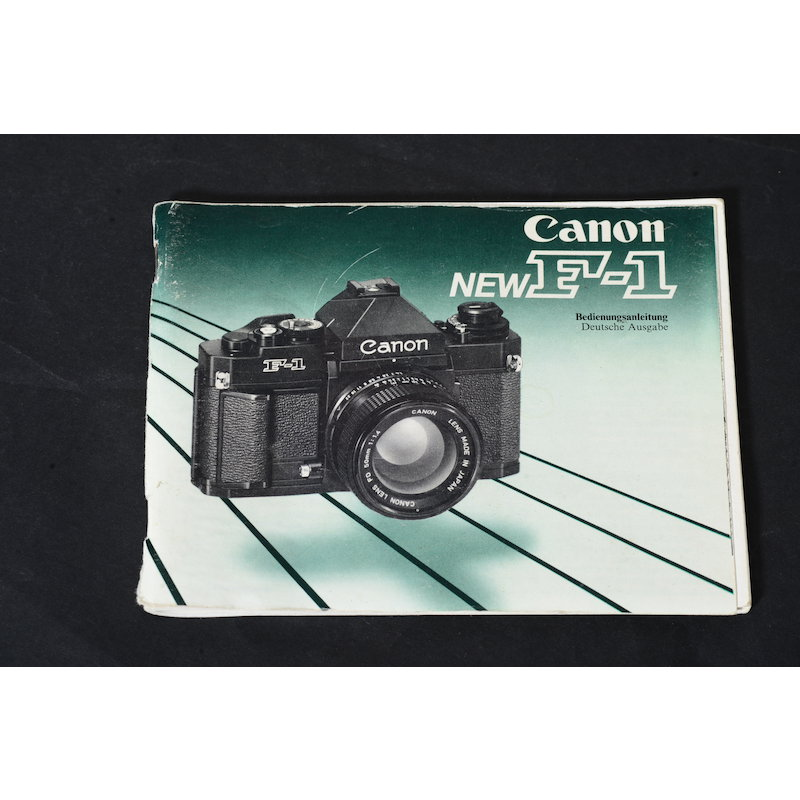 Canon Anleitung F-1 New