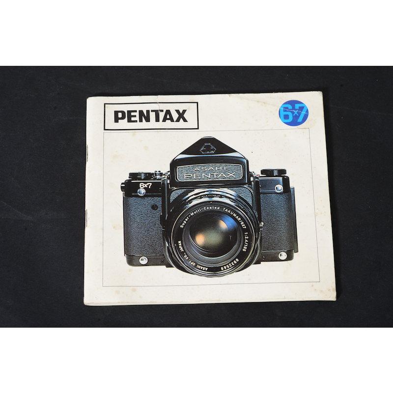 Pentax Anleitung 6x7