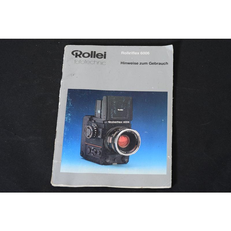Rollei Anleitung Flex 6006 Hinweise zum Gebrauch