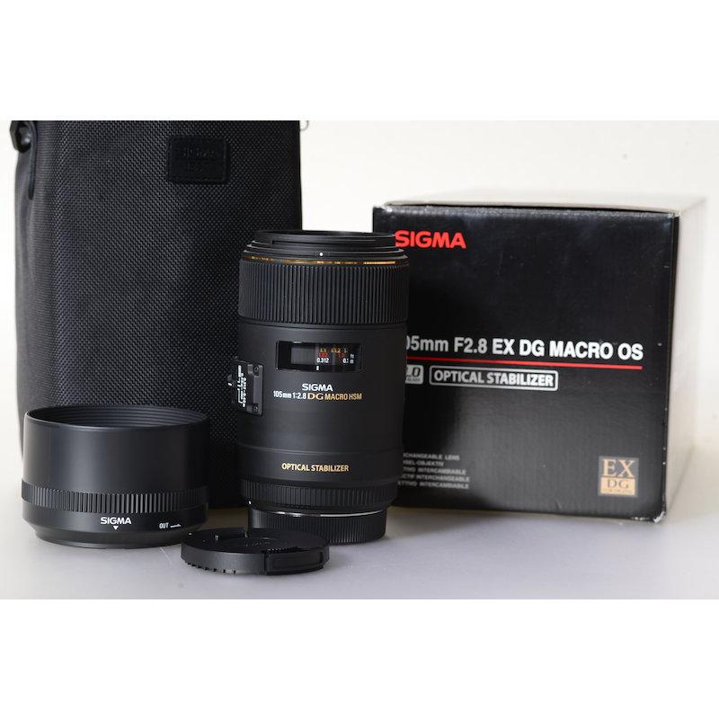 Sigma EX 2,8/105 DG Makro HSM OS C/EF