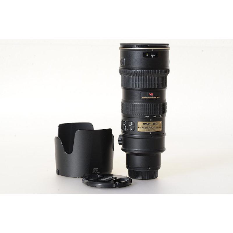 Nikon AF-S 2,8/70-200 G IF ED VR