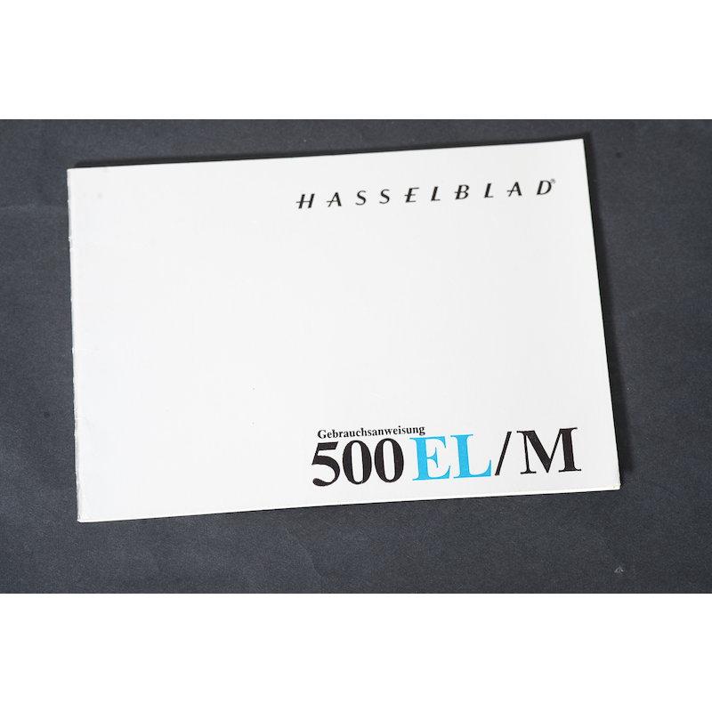 Hasselblad Anleitung 500EL/M