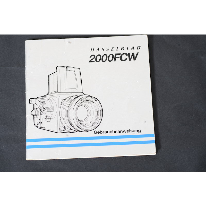Hasselblad Anleitung 2000FC/W