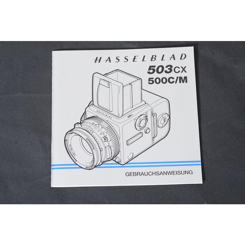 Hasselblad Anleitung 503CX+500C/M
