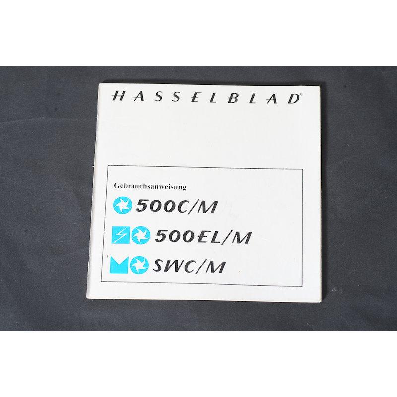 Hasselblad Anleitung 500C/M+500EL/M+SWC/M