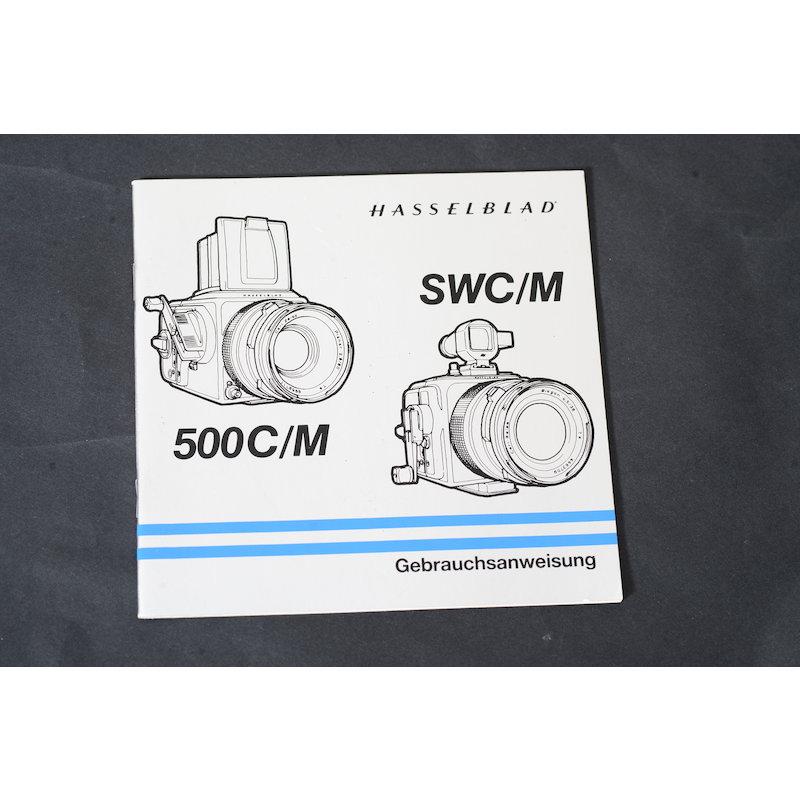 Hasselblad Anleitung 500C/M+SWC/M
