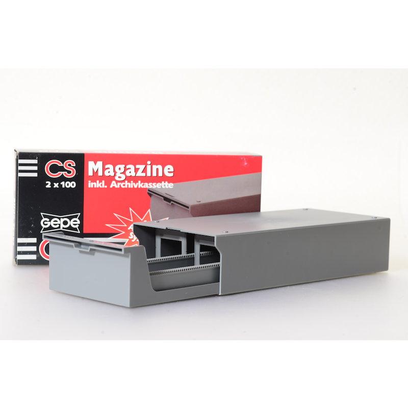 Gepe CS Diamagazine 2x100