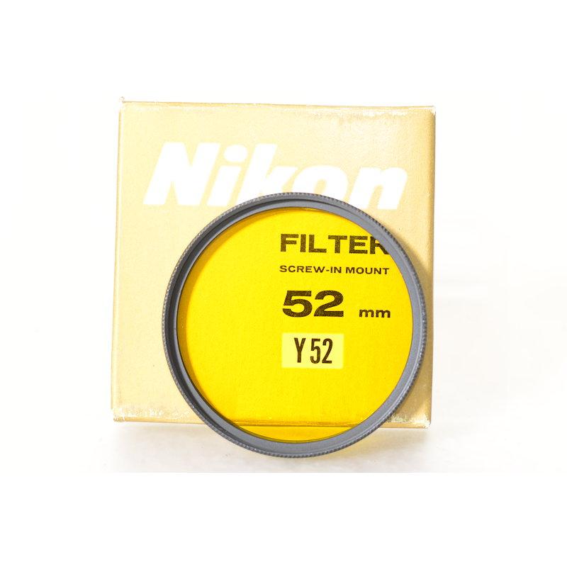 Nikon Gelbfilter Y52 E-52