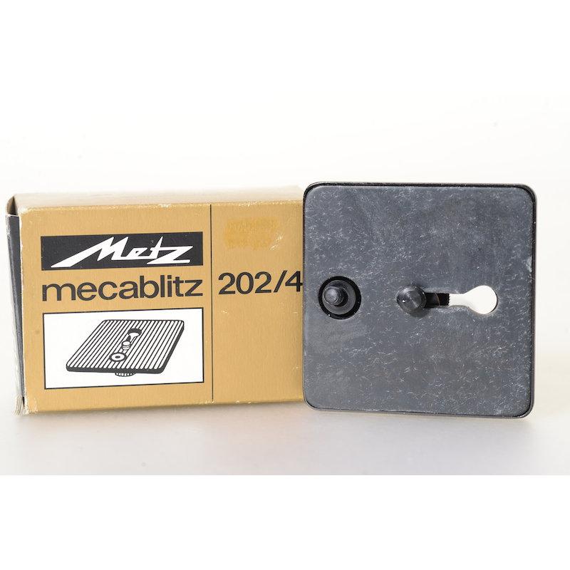 Metz Schienenadapter 202/4