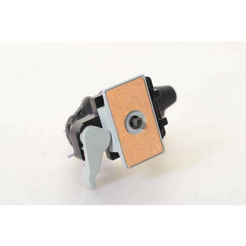 Manfrotto Stativkopf mit Schnellwechselplatte MA 155RC