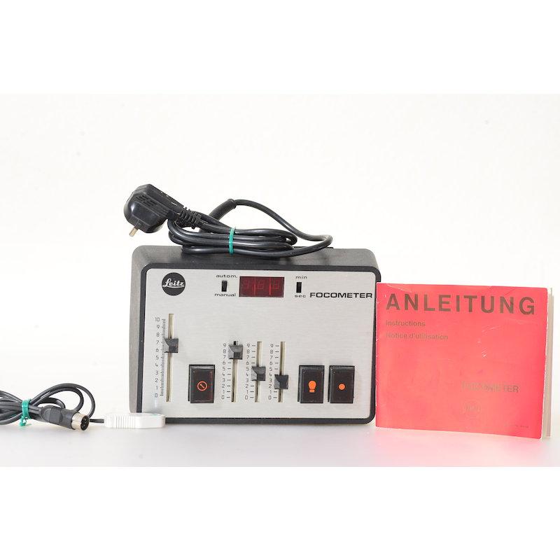 Leitz Belichtungsschaltuhr Focometer Quartz