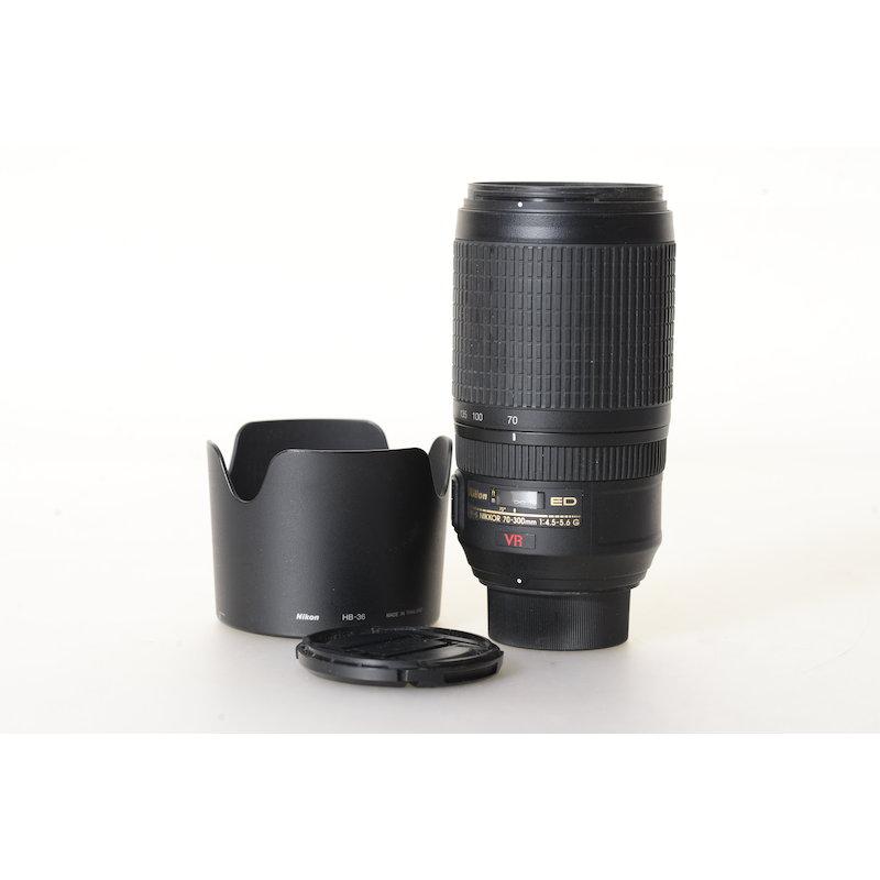 Nikon AF-S 4,5-5,6/70-300 G IF ED VR