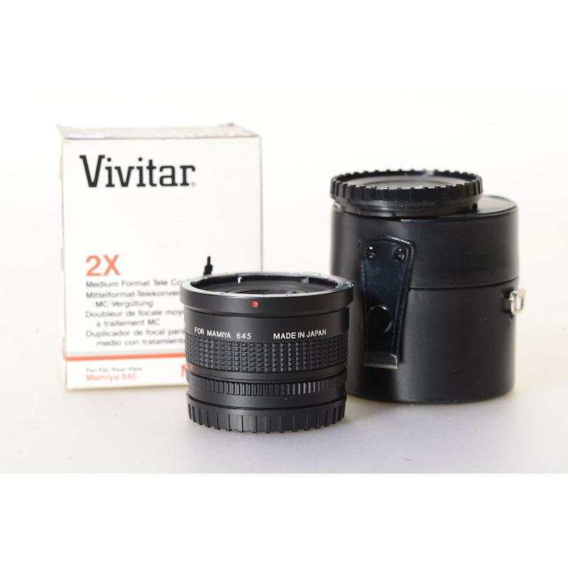 Vivitar Telekonverter MC6 2x Mamiya M645