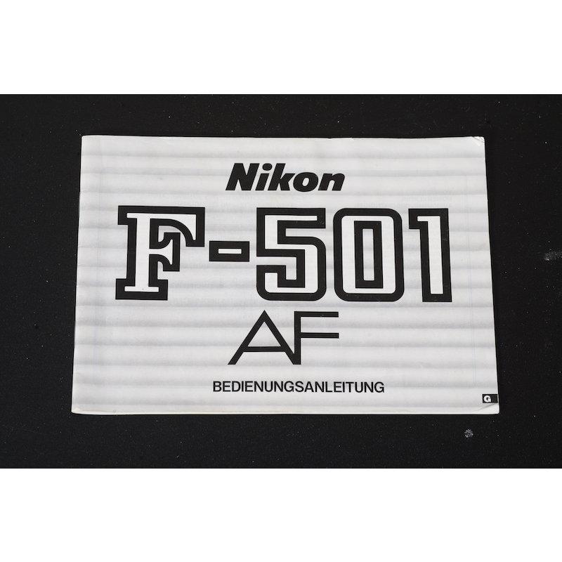 Nikon Anleitung F-501