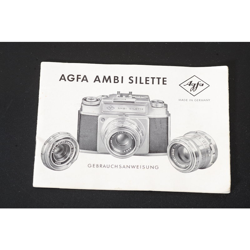 Agfa Anleitung Ambi Silette