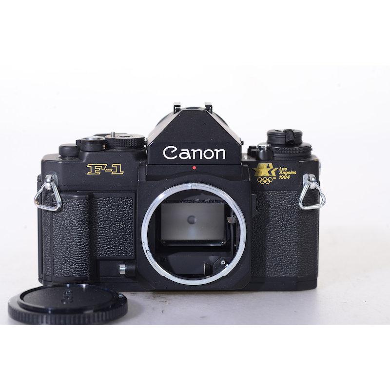 Canon F-1 New+AE-Prisma Los Angeles 1984