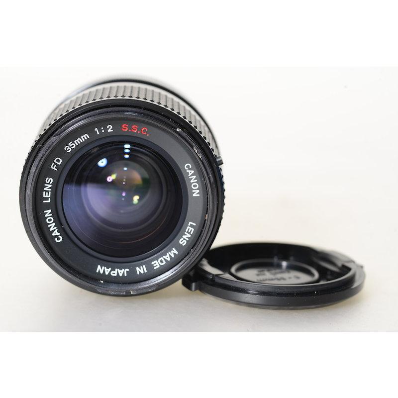 Canon FD 2,0/35 S.S.C.