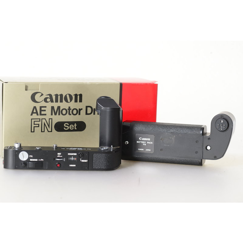 Canon AE-Motor Drive FN F-1 New+Batteriepack