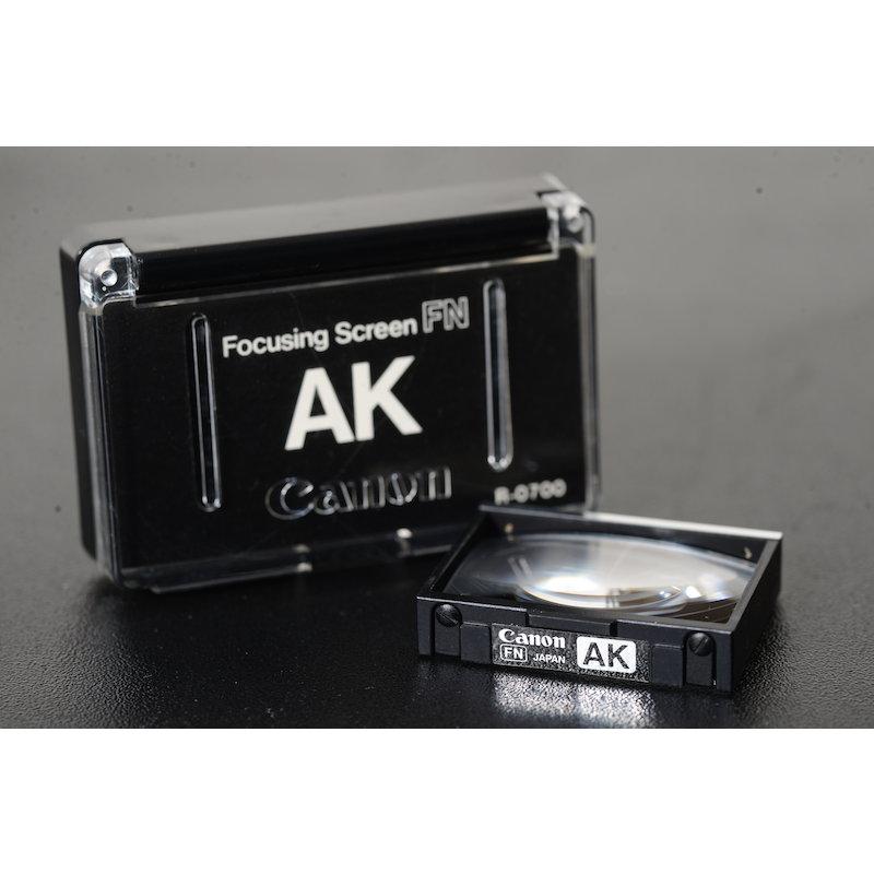 Canon Einstellscheibe AK F-1 New