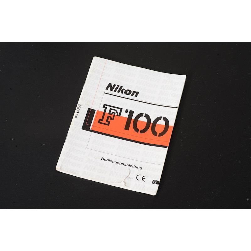 Nikon Anleitung F100