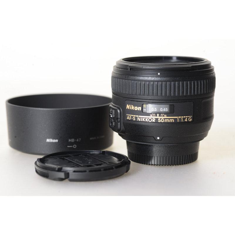 Nikon AF-S 1,4/50 G