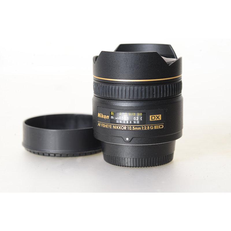 Nikon AF 2,8/10,5 G ED Fisheye