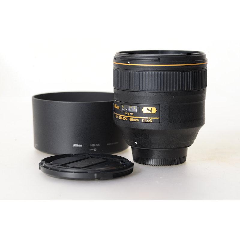 Nikon AF-S 1,4/85 G N
